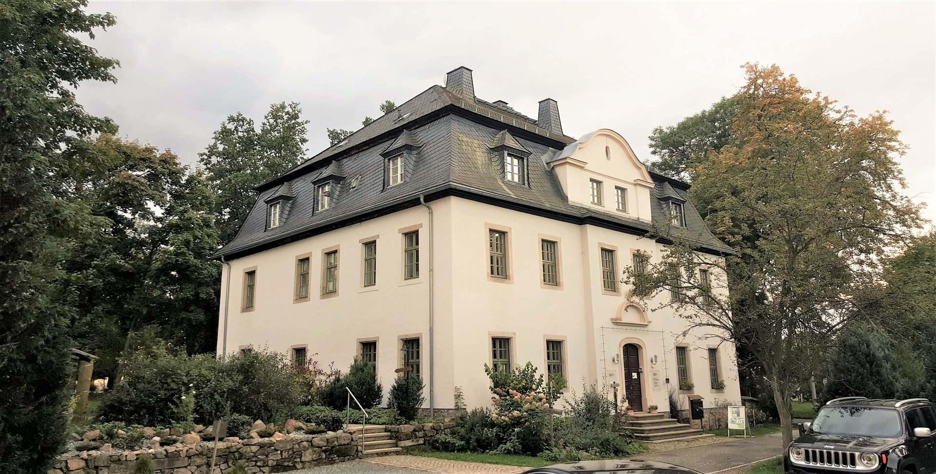 Rittergut Adlershof zu Oberlauterbach - Herrenhaus © Jens Reiher