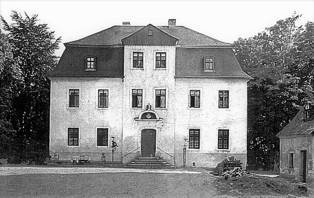 Rittergut Adlershof zu Oberlauterbach - Herrenhaus bis 1927 © unbekannt
