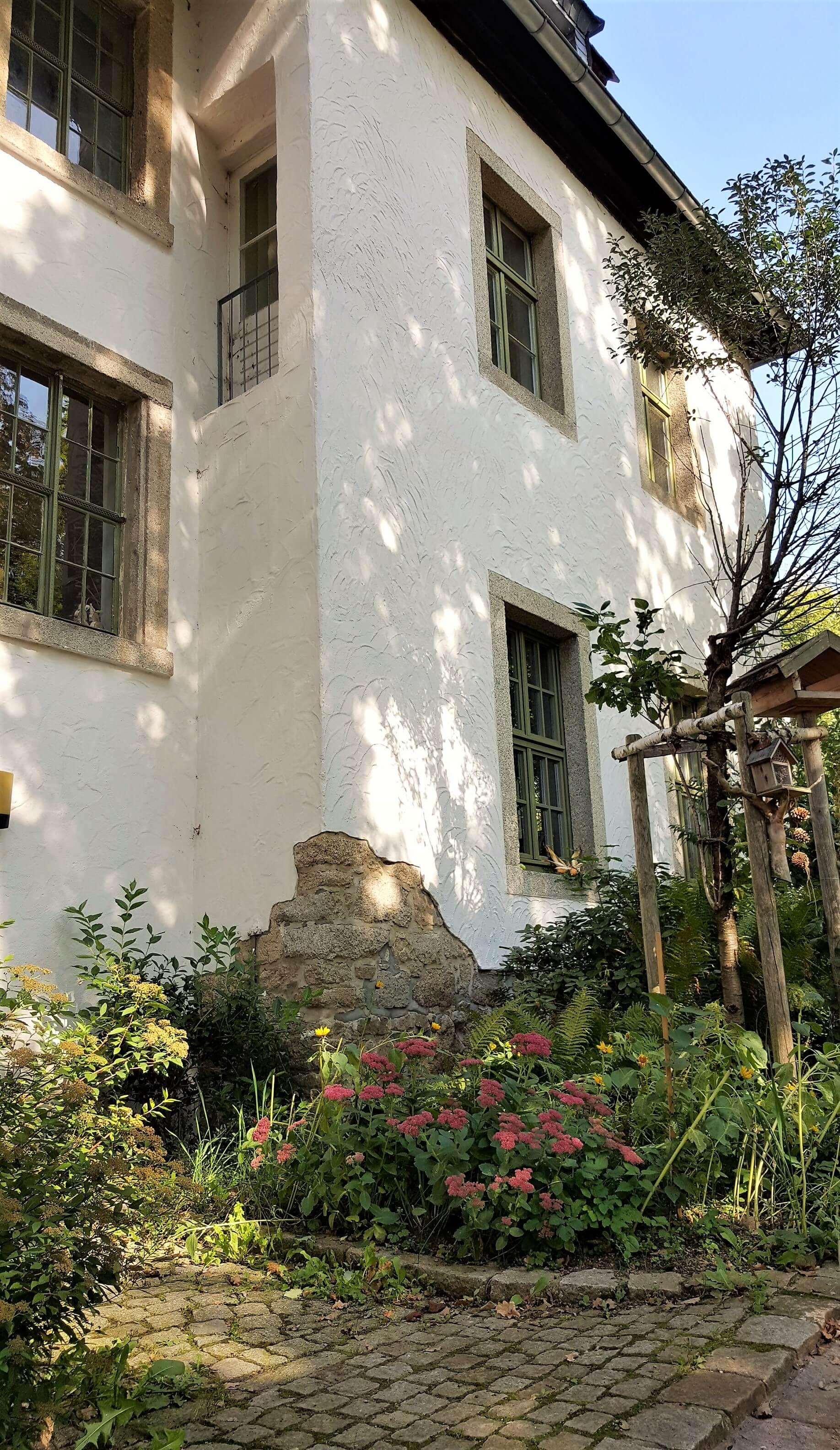 Rittergut Adlershof zu Oberlauterbach - Herrenhaus parkseitig © Jens Reiher