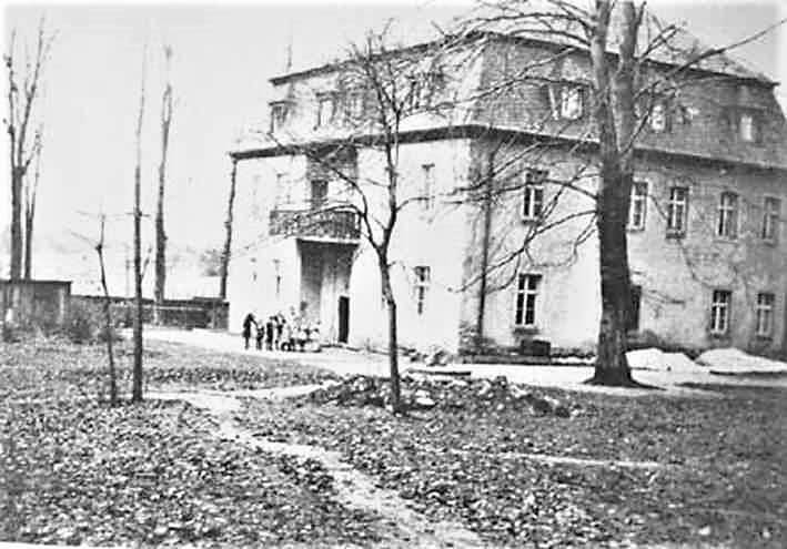 Rittergut Adlershof zu Oberlauterbach - Herrenhaus parkseitig © unbekannt