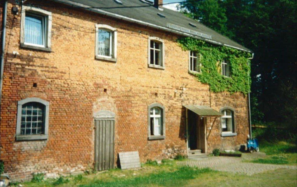 Rittergut Adlershof zu Oberlauterbach - Hofseite Gutsveralterhaus 1992 © Sven Reiher