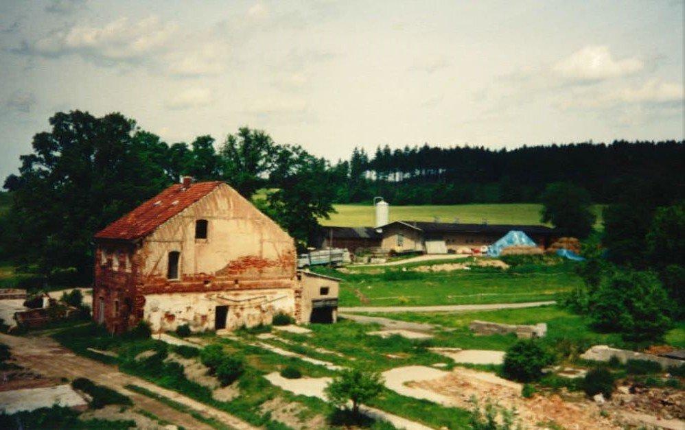 Rittergut Adlershof zu Oberlauterbach - Milchhaus und Ostlücke © Sven Reiher