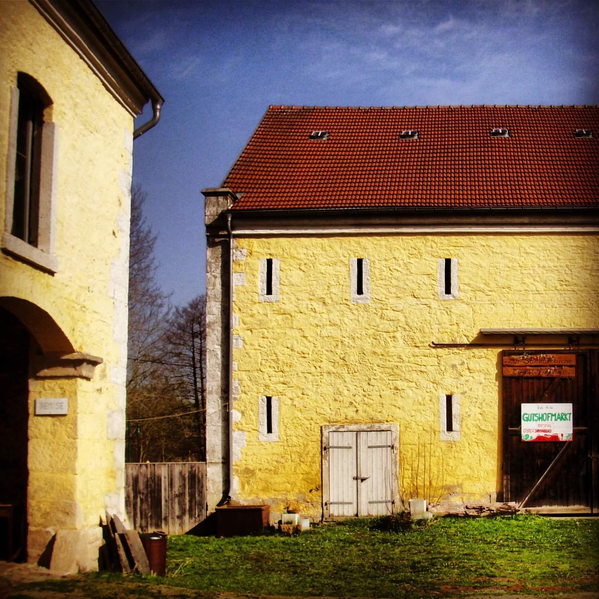 Rittergut Adlershof zu Oberlauterbach - Scheuengebäude © Jens Reiher