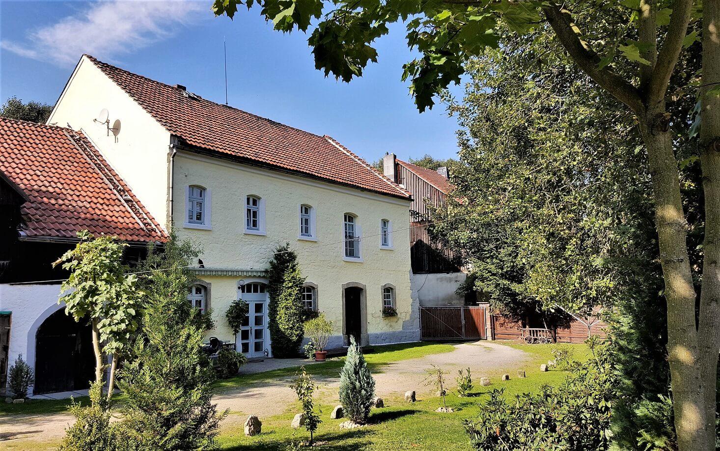 Rittergut Adlershof zu Oberlauterbach - Westflügel © Jens Reiher