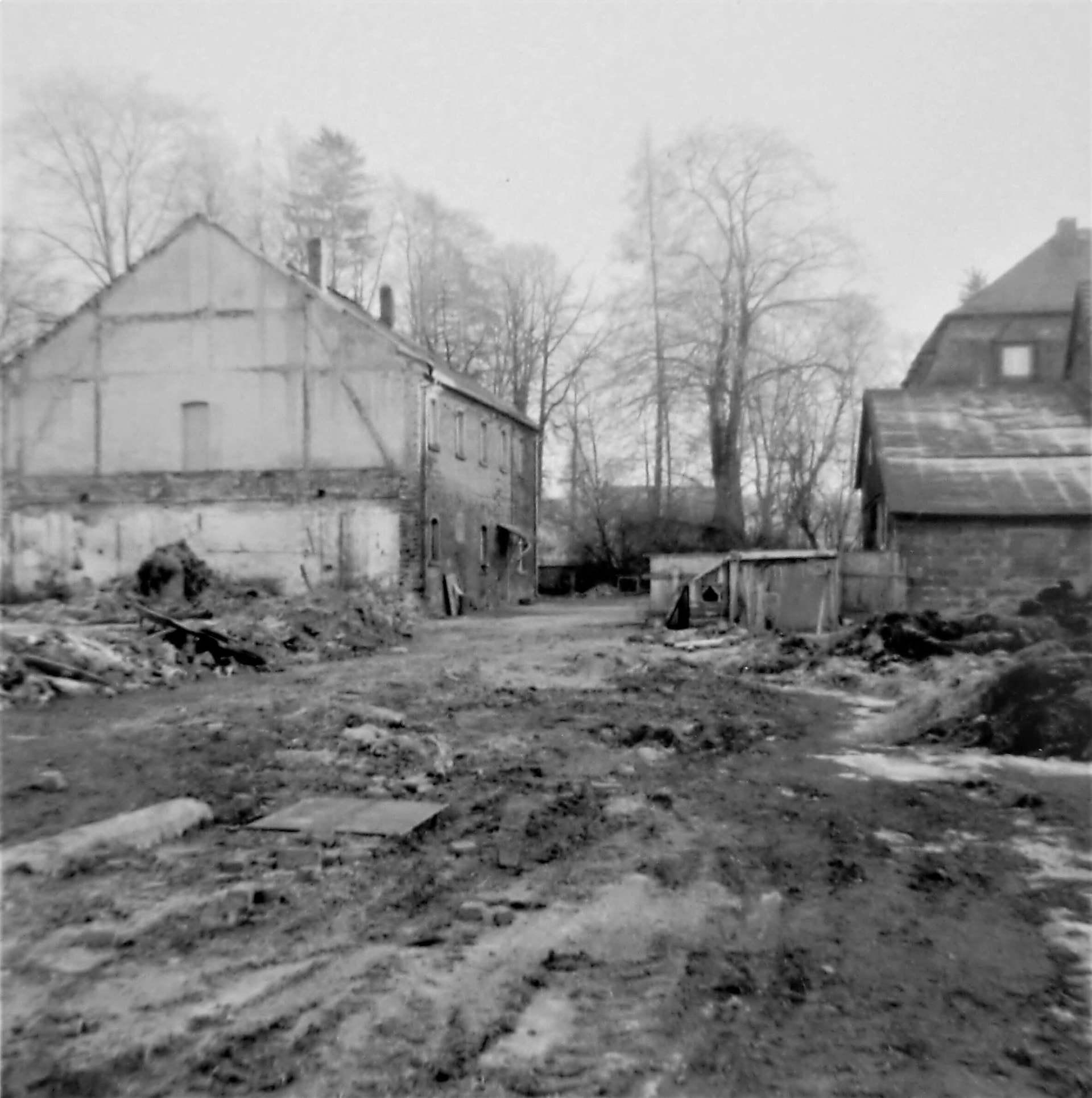 Rittergut Adlershof zu Oberlauterbach - Gutshof nach Abriss Stallungen © Fotostudio Pieschel