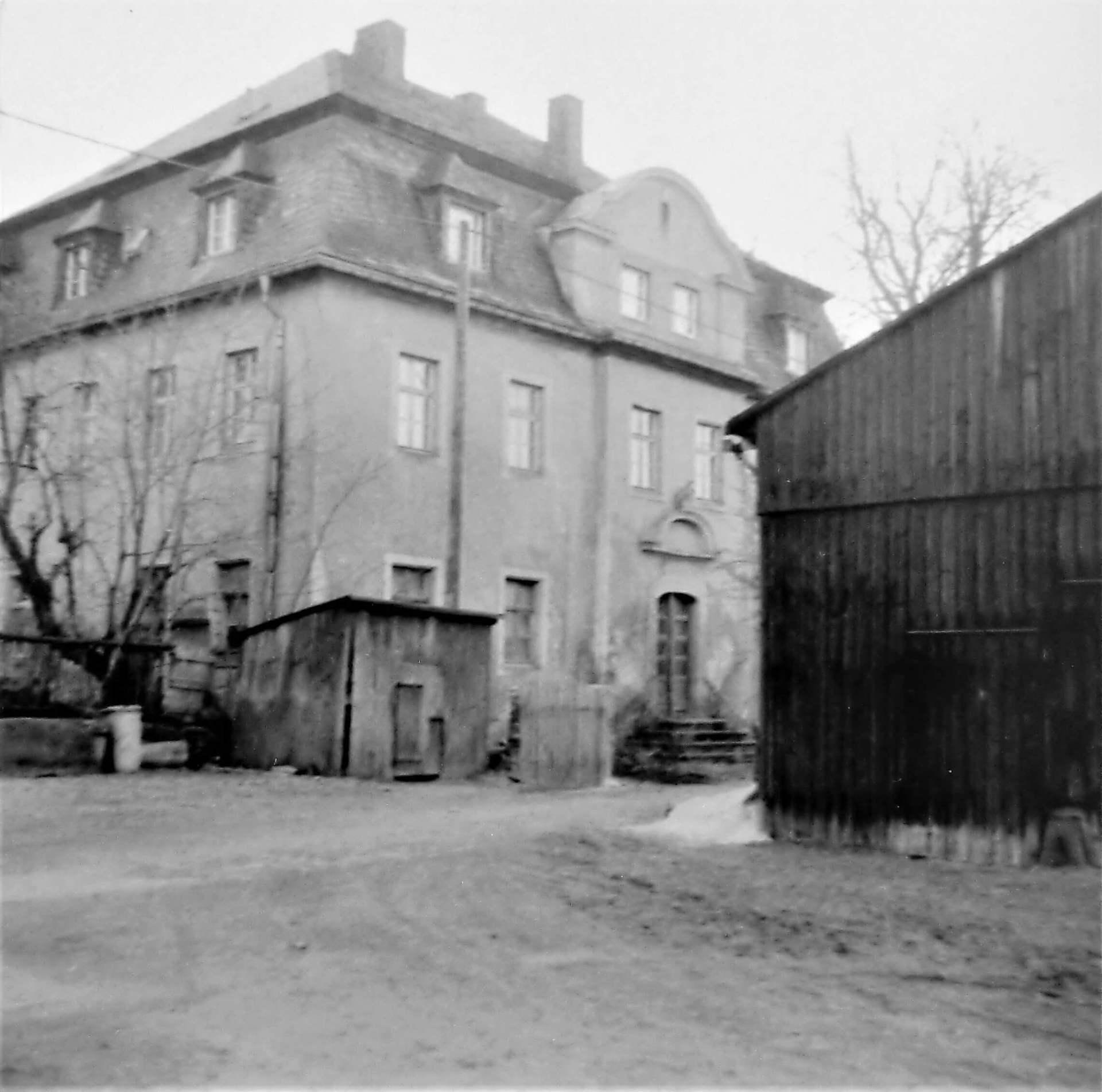 Rittergut Adlershof zu Oberlauterbach - verfallenes Herrenhaus © Fotostudio Pieschel