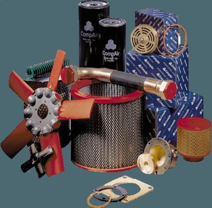 OEM compressor spares and oils