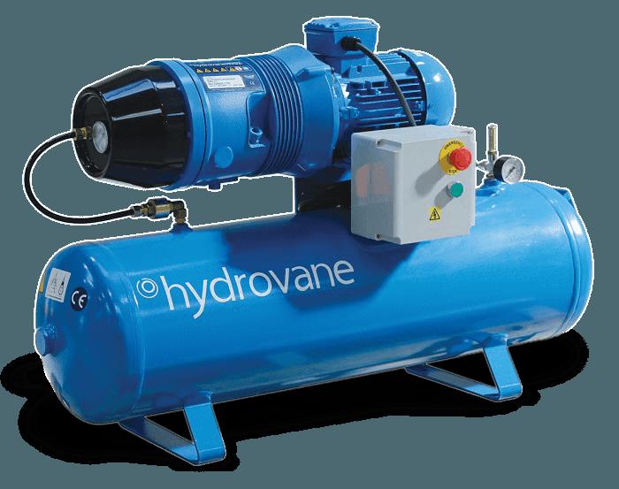 Hydrovane compressed air equipment