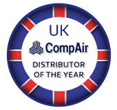 UK CompAir Distributor of the Year logo