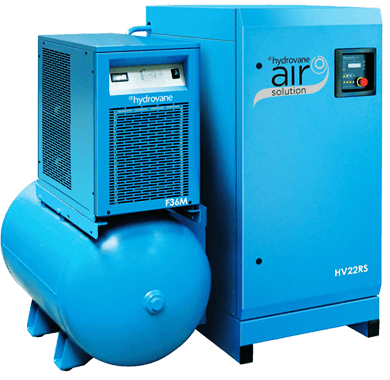 Hydrovane air solutions equipment