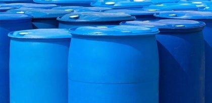 Barrels of liquid