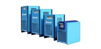 A range of CompAir dryers