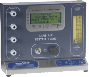 Air quality testing equipment