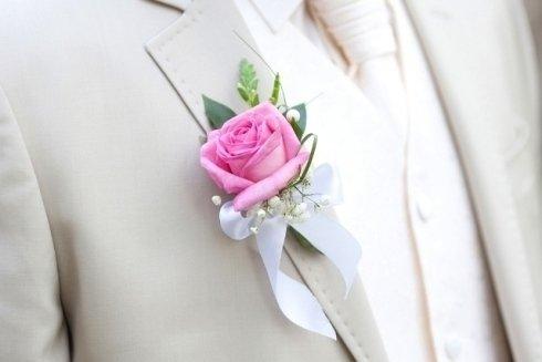 Fiori per lo sposo