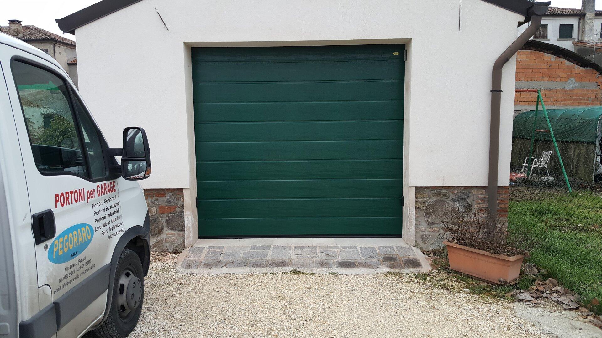 garage verde