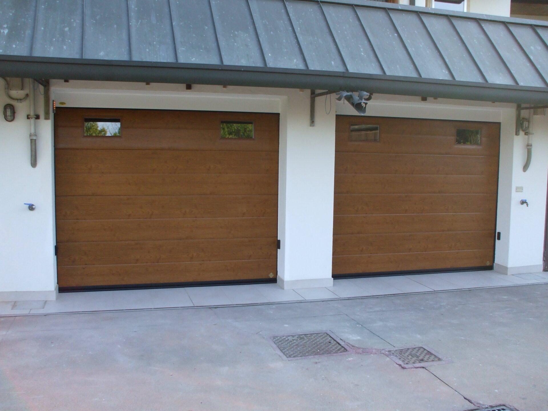 garage in legno due posti