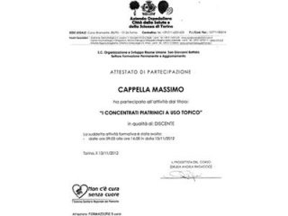 Specializzazioni dentistiche Dr.Cappella Torino
