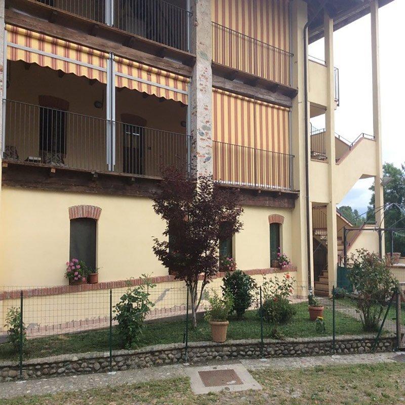 Vista esterna con terrazze