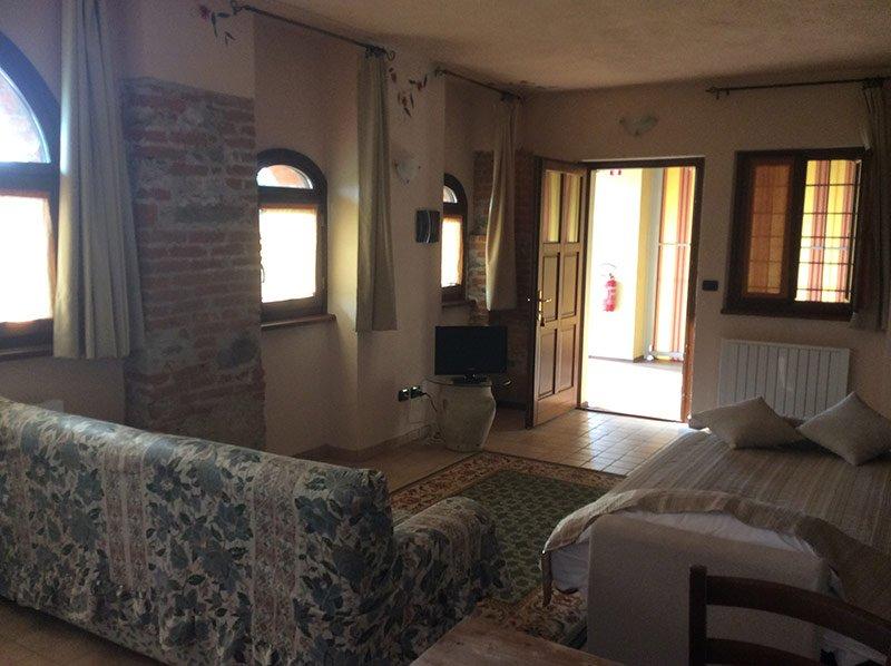 soggiorno e area salotto