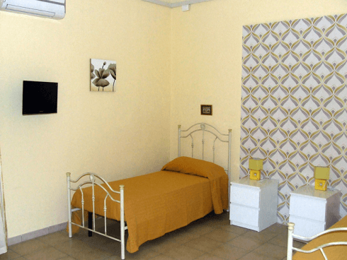 La struttura dispone di camere dotate di ogni comfort.