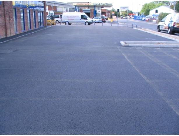 Commercial driveway
