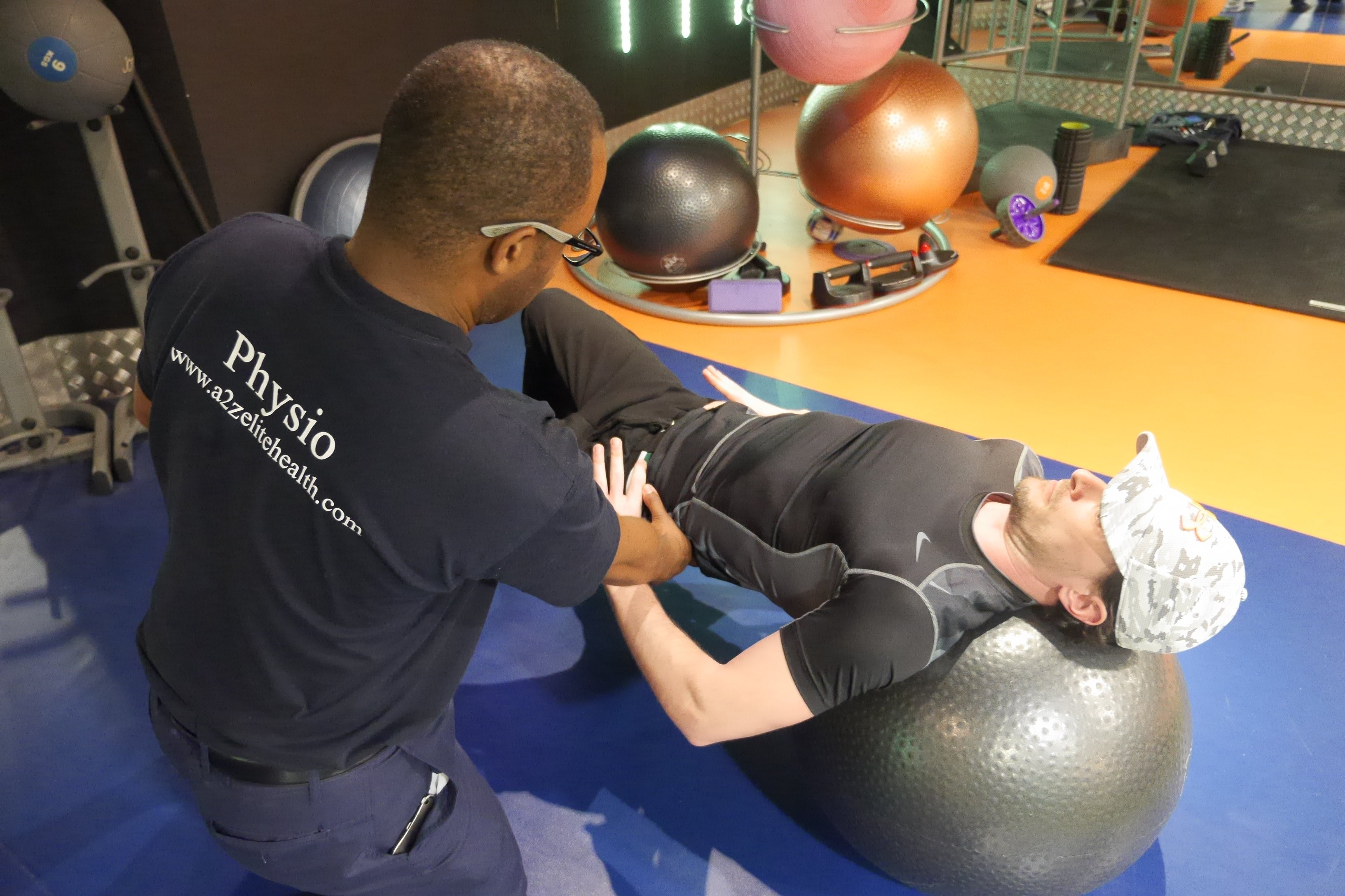 physio treating