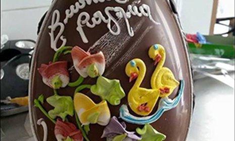 uovo di pasqua al cioccolato