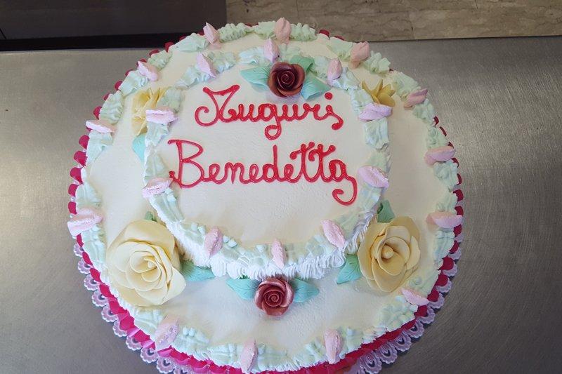torta di compleanno per Benedetta