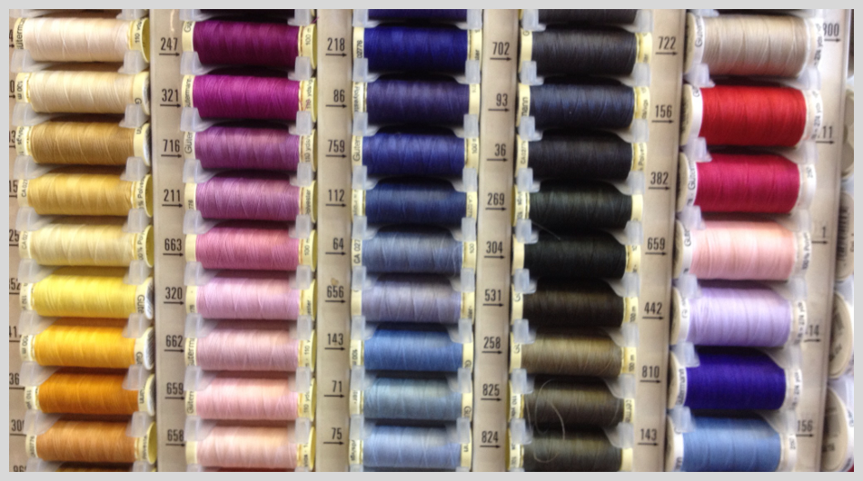 For knitting, sewing or haberdashery supplies in Leigh-on-Sea call 01702 512 289