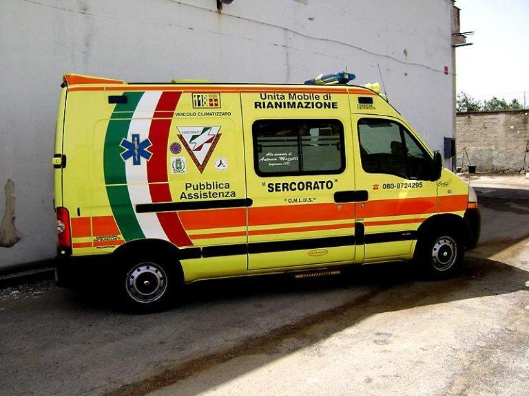 ambulanze bari