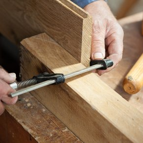 Joinery measuring wood