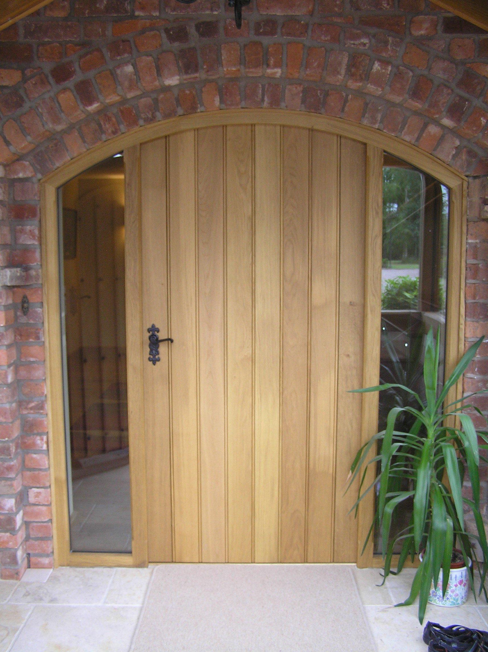 Light wooden door by AR Manley