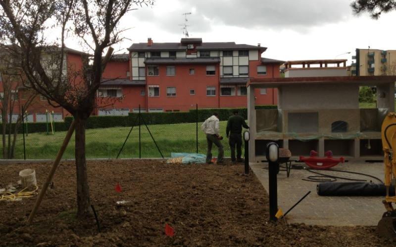 progettazione giardini condominiali Bologna