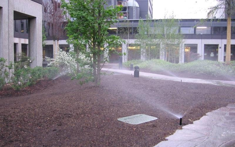 vendita impianti di irrigazione per aree verdi