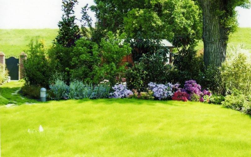 disposizione fiori giardino