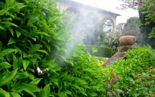 impianti antizanzare per giardini