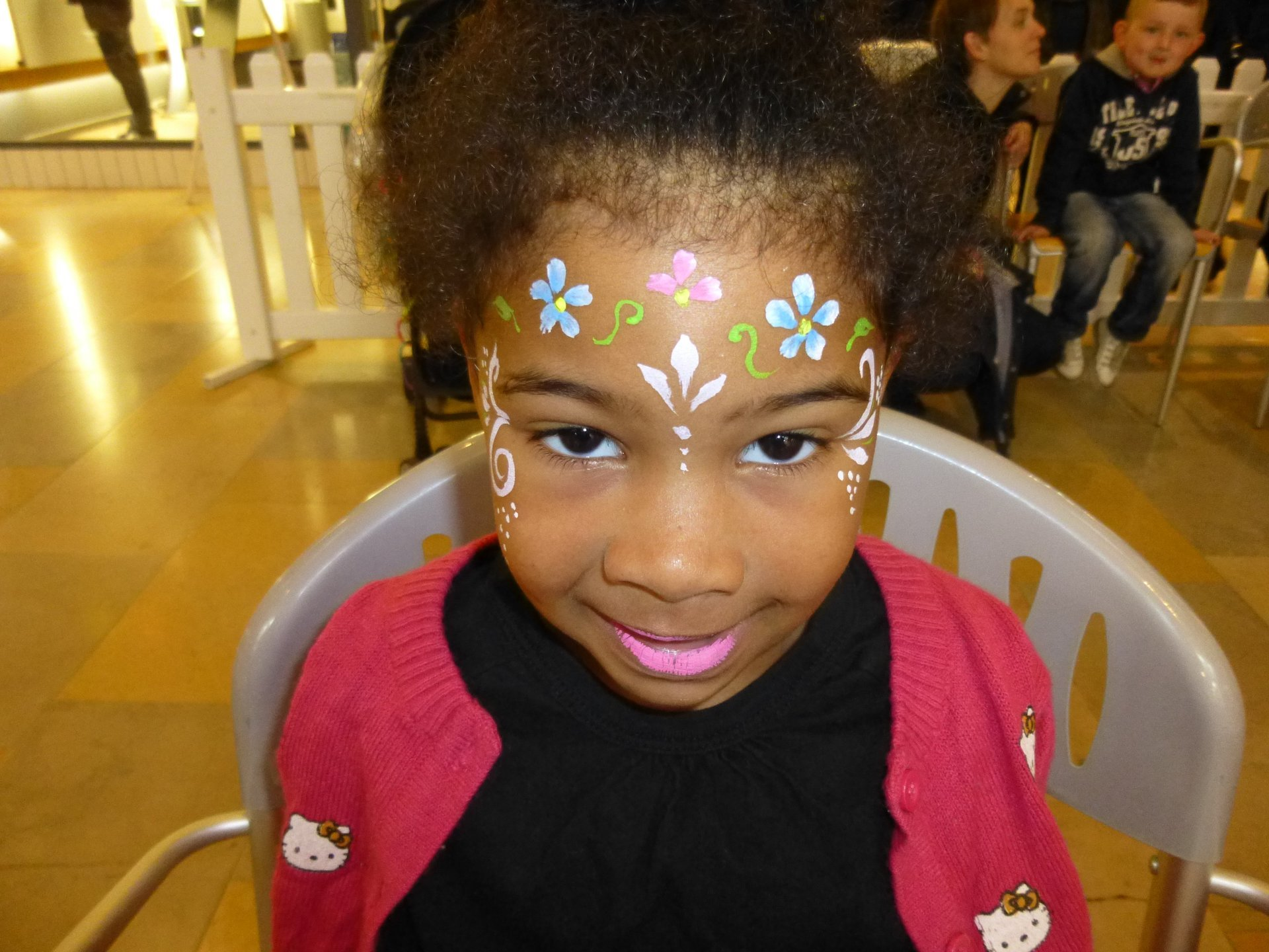 face painting activity