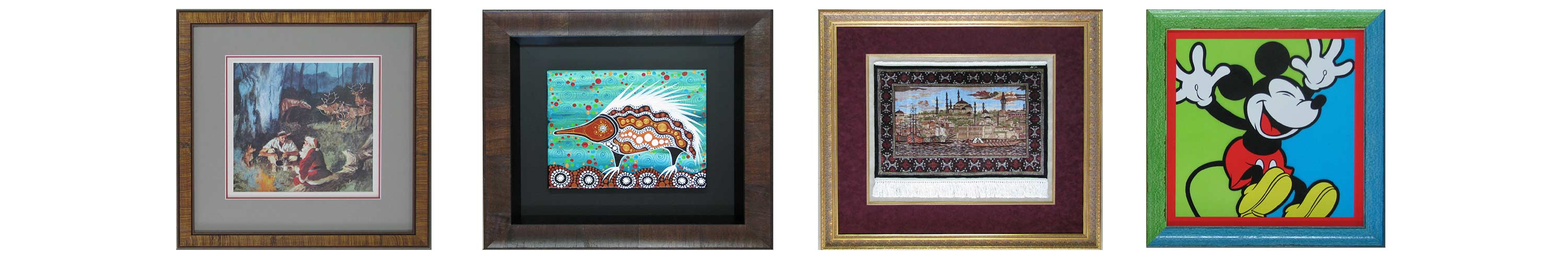 hall of frame art and needlework in frame