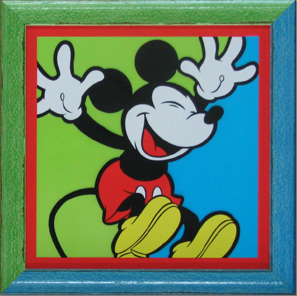 hall of frame mickey mouse