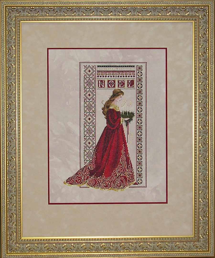 hall of frame noel christmas lady