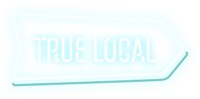 hall of frame true local logo