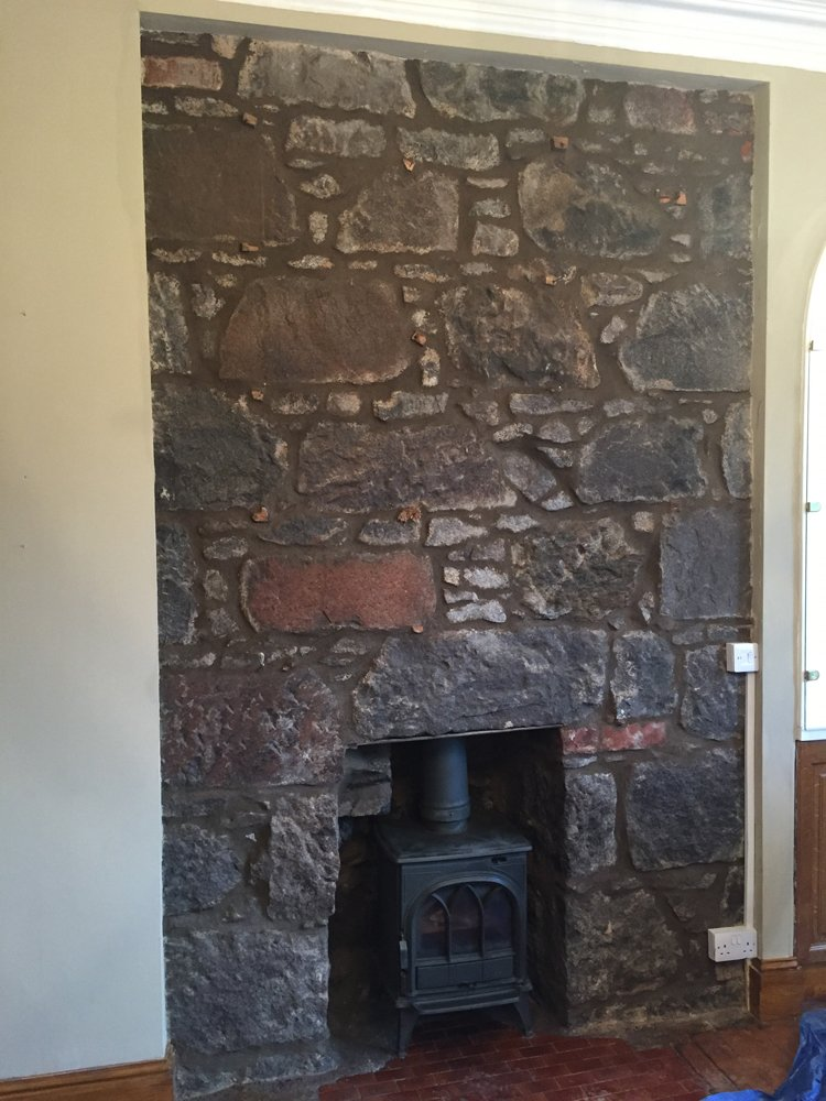 Repointed Internal Wall