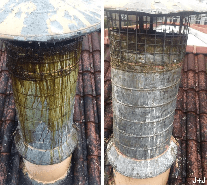 Cleaning Flue