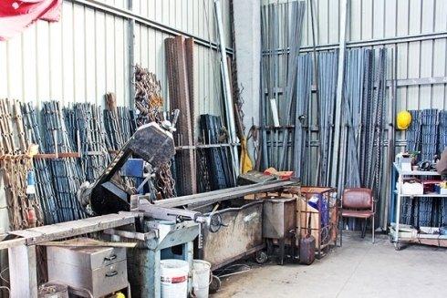 Articoli di ferro battuto per costruzioni