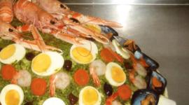 Ostaia da u Santu, Genova, pesce fresco