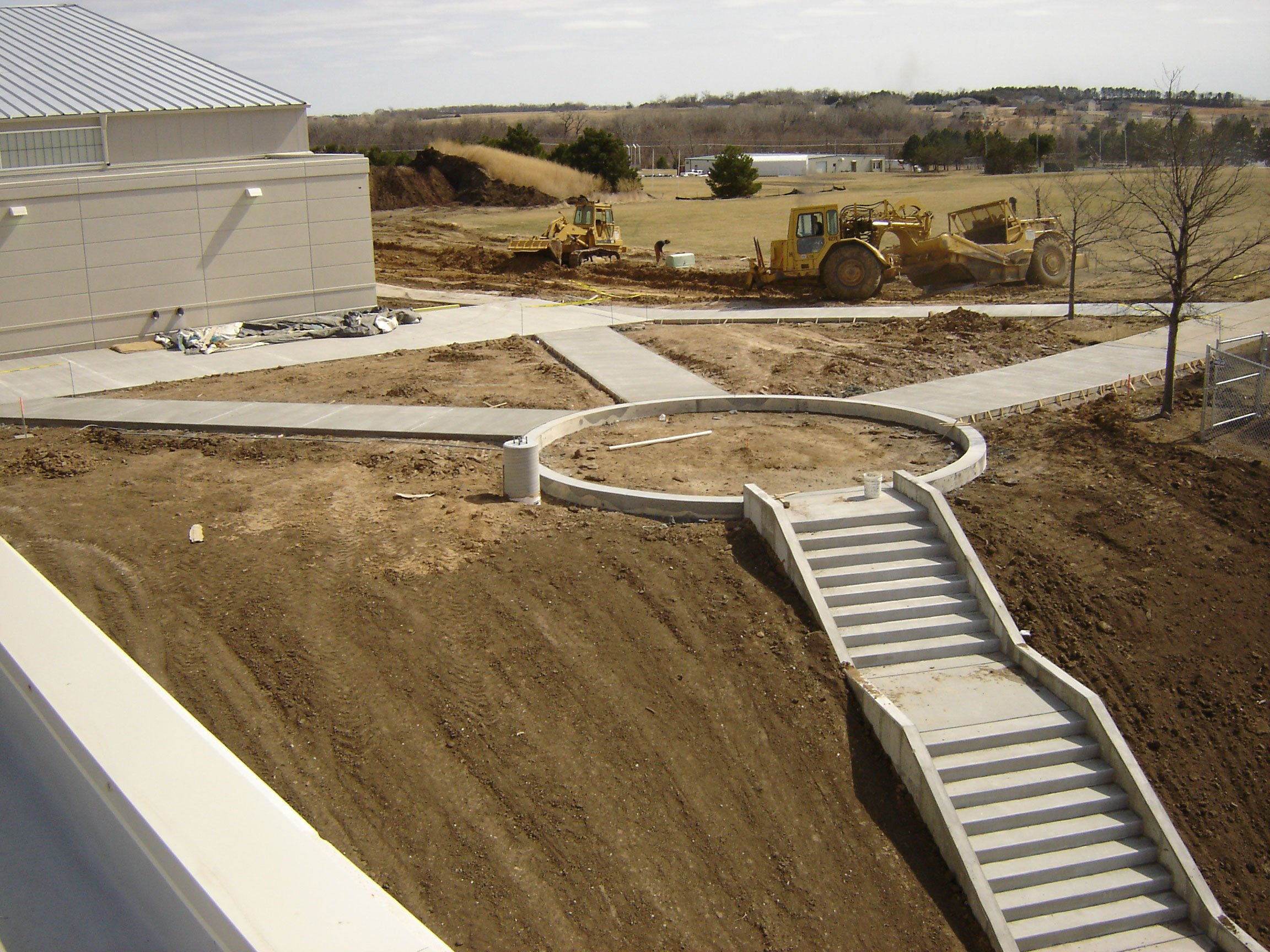 Concrete stairs in Lincoln, NE
