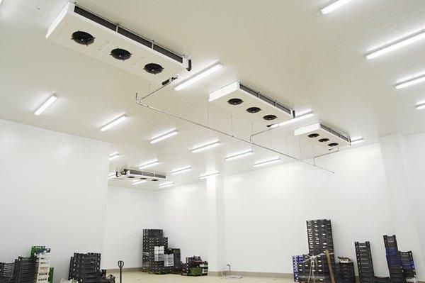 impianto di refrigerazione contre apparati sul tetto