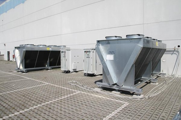 centrale frigorifera esterna