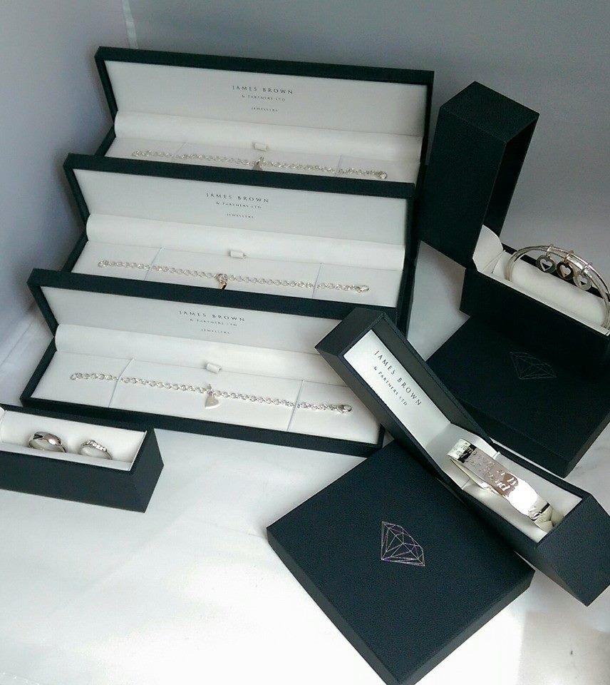 A selection of heart pendants