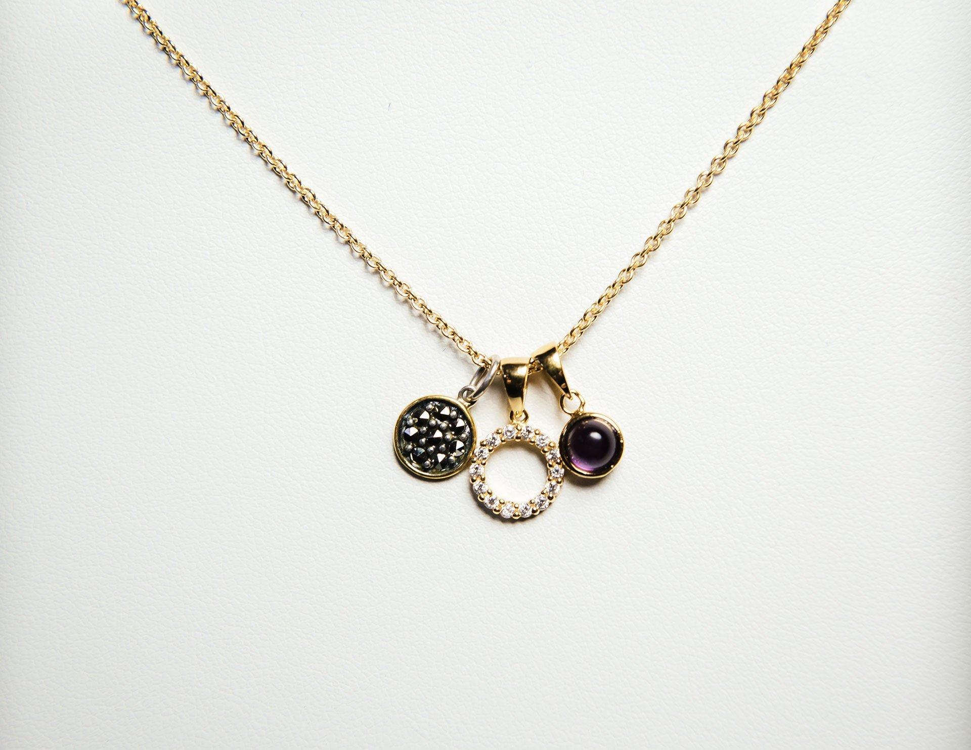 A selection of pendants